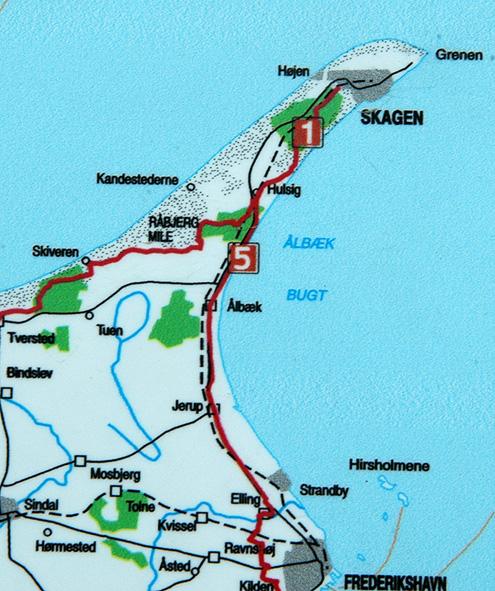 kart over skagen 20050608 Sommerferie 2005   2  Skagen kart over skagen